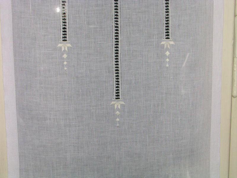 Sfilature tende in lino - Tende in lino per cucina ...